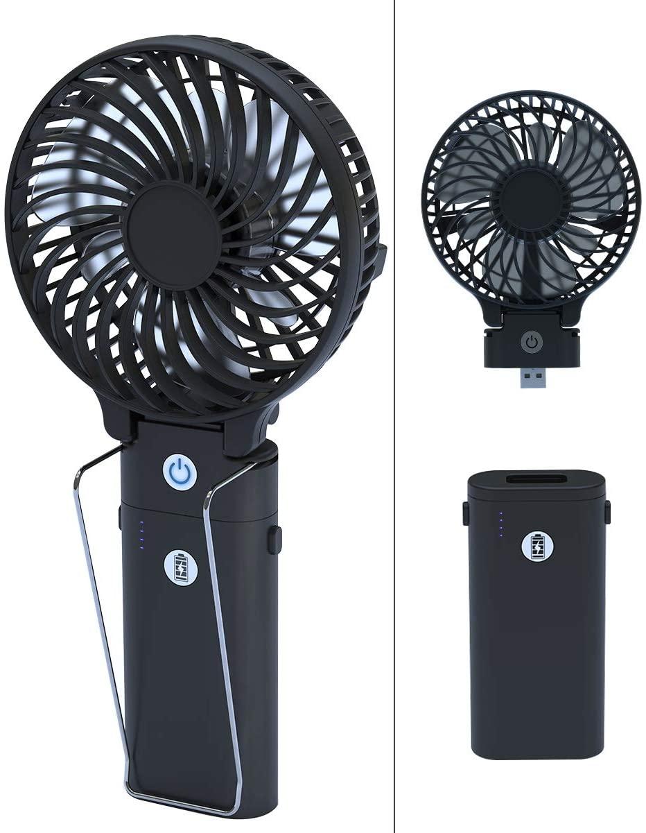 携帯扇風機の人気おすすめランキング15選【羽なし・首掛け・卓上】