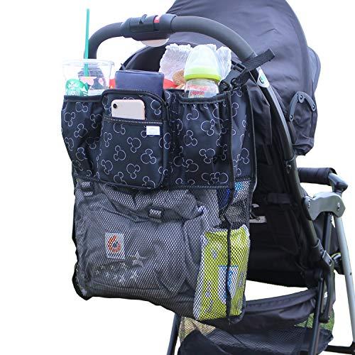 ベビーカーバッグの人気おすすめランキング15選【ドリンクホルダー付きも!】