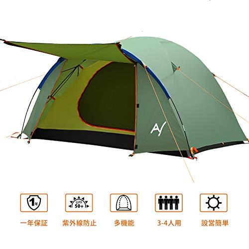 キャンプテントの人気おすすめランキング15選【ソロキャンプ・カップル・ファミリーにも!2020年最新版】のサムネイル画像