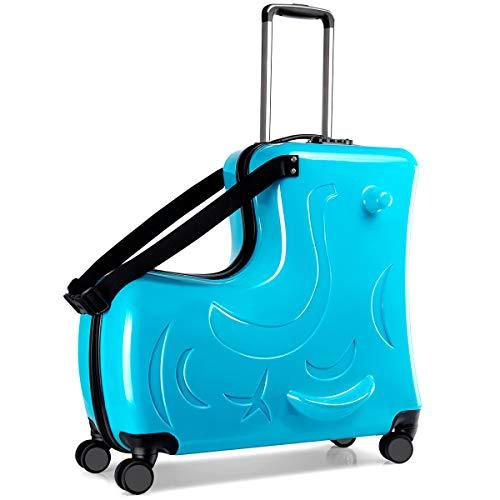 キッズ用スーツケースの人気おすすめランキング15選【乗れるタイプも!】