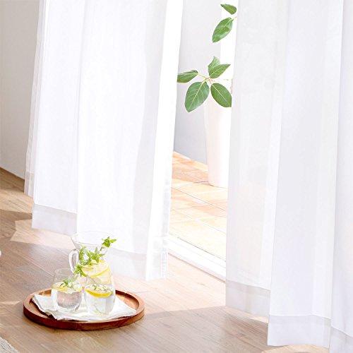 【2021年最新版】白いカーテン人気おすすめランキング15選【おしゃれ】