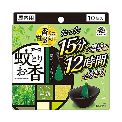 【2021年最新版】虫除けになるお香の人気おすすめランキング15選【ゴキブリなどにも】のサムネイル画像