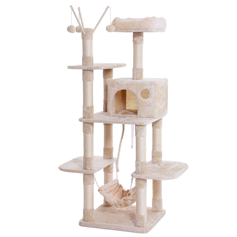 猫も飼い主も安心安全!キャットタワーのおすすめ人気ランキングのサムネイル画像