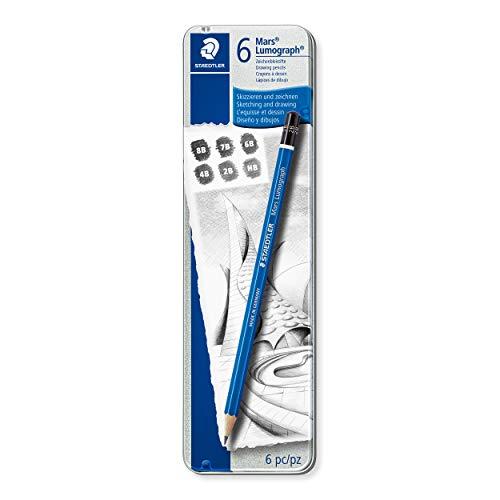 デッサン用鉛筆の人気おすすめランキング【uni(ユニ)やステッドラーをご紹介】