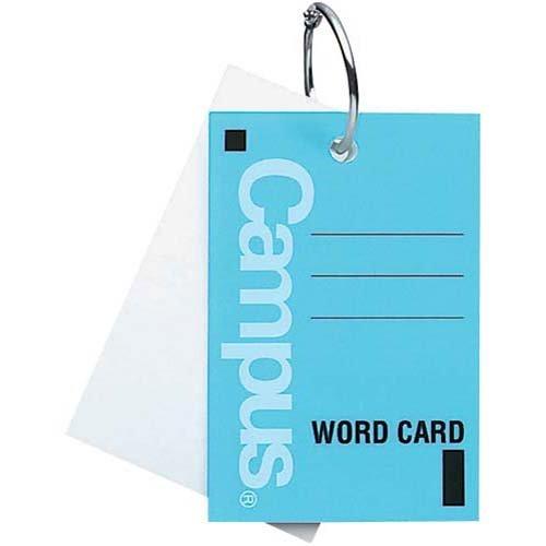 単語カードの人気おすすめランキング10選【勉強やToDoリストにも】