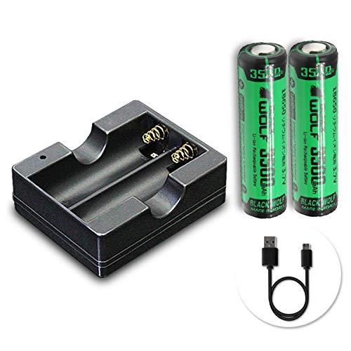 【2021年最新版】18650電池の人気おすすめランキング15選【寿命が長く電子タバコにも】