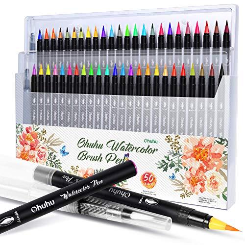 【2021年最新版】カラー筆ペンの人気おすすめランキング15選【文字やイラストをきれいに書こう】のサムネイル画像