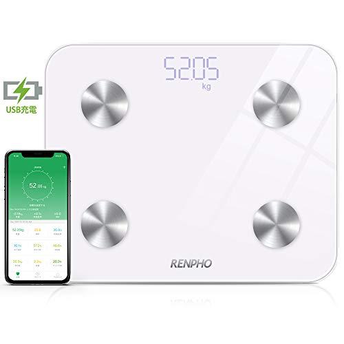スマホ連動体重計の人気おすすめランキング17選【Bluetooth接続】のサムネイル画像