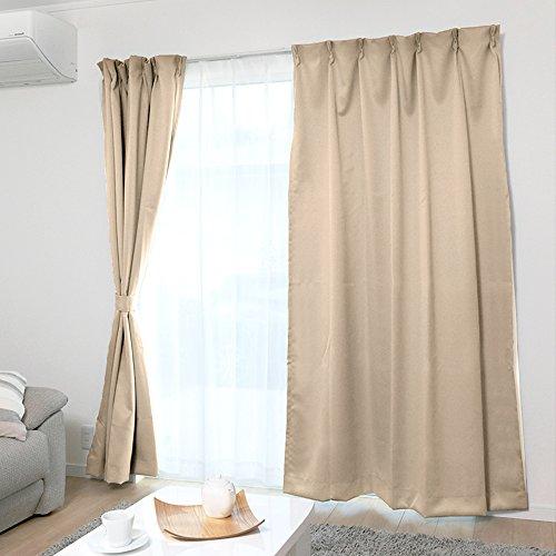 遮光カーテンの人気おすすめランキング15選【黒やレースでおしゃれに】