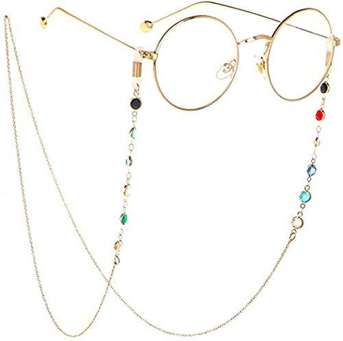 【おしゃれで機能的】眼鏡チェーンの人気おすすめランキング15選【マスクチェーンにも】