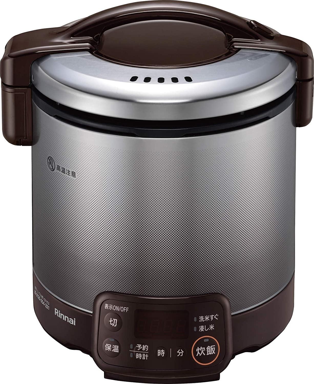 ガス炊飯器の人気おすすめランキング10選【リンナイ・パロマなどの人気メーカーも】