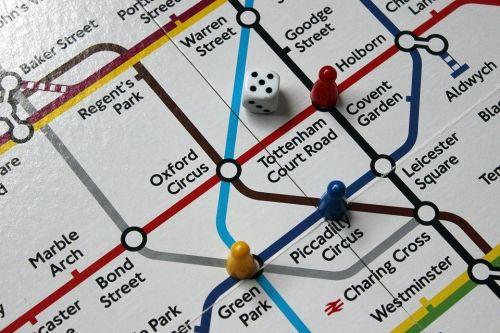 地下鉄のマップ